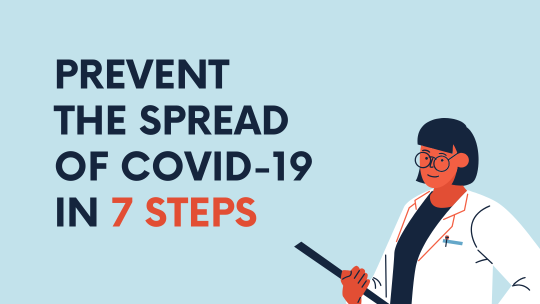 Prevent The Spread Of COVID-19 In 7 Steps