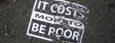 Do You Believe It Costs More to Be Poor?